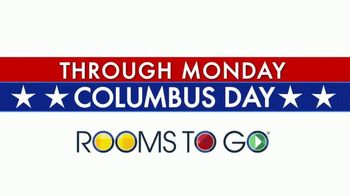 Rooms to Go Columbus Day TV Spot, '10 Days'
