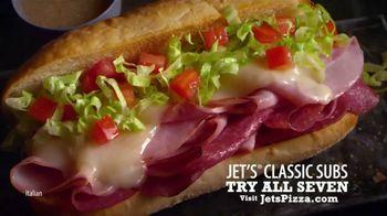 Jet's Pizza Classic Subs TV Spot, 'Classics Are Back'