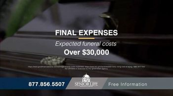 Senior Life Insurance Company TV Spot, 'Affordable Coverage'