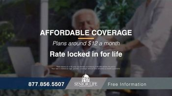 Senior Life Insurance Company TV Spot, 'Affordable Coverage' - Thumbnail 3