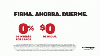 Mattress Firm La Gran Venta TV Spot, 'Ahorra hasta $400 dólares' [Spanish] - Thumbnail 5