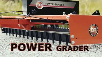 DR Power Equipment Power Grader TV Spot, 'Driveway Obstacle Course'