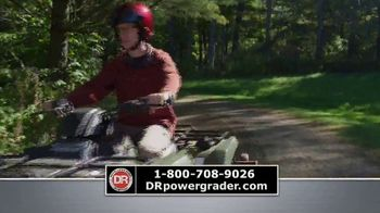 DR Power Equipment Power Grader TV Spot, 'Driveway Obstacle Course' - Thumbnail 6