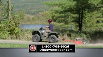 DR Power Equipment Power Grader TV Spot, 'Driveway Obstacle Course' - Thumbnail 7