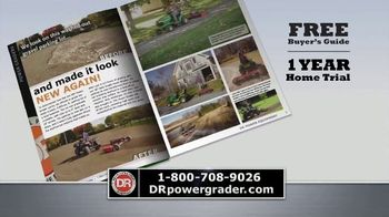 DR Power Equipment Power Grader TV Spot, 'Driveway Obstacle Course' - Thumbnail 8