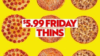 Papa Murphy's Pizza $5.99 Friday Thins TV Spot, 'Stay In' - Thumbnail 3