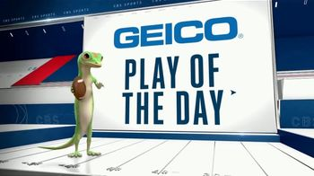 GEICO TV Spot, 'Play of the Day: Gardner Minshew to Chris Conley' - Thumbnail 5