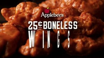 Applebee's 25-Cent Boneless Wings TV Spot, 'Get 'Em While They're Hot' Song by Steppenwolf - Thumbnail 2