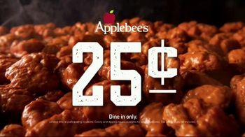 Applebee's 25-Cent Boneless Wings TV Spot, 'Get 'Em While They're Hot' Song by Steppenwolf - Thumbnail 8