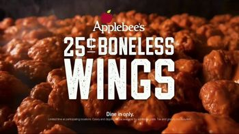 Applebee's 25-Cent Boneless Wings TV Spot, 'Get 'Em While They're Hot' Song by Steppenwolf