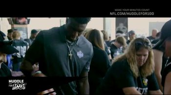 NFL TV Spot, 'Huddle For 100: Halfway There' Feat. Charles Tillman, Josh Jacobs, DeAndre Hopkins - Thumbnail 5