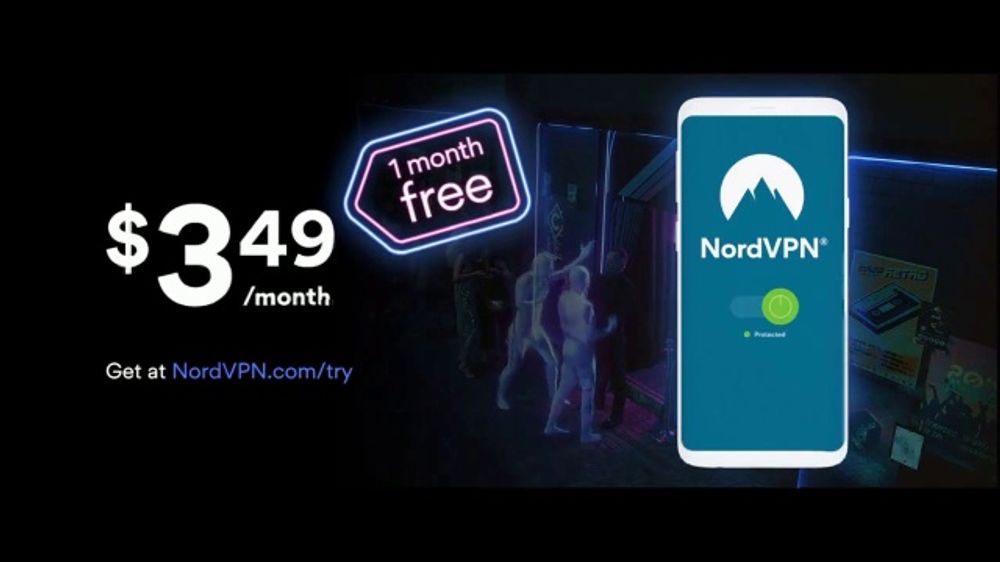 NordVPN TV Commercial, 'Cyber Month Party: One Month Free'
