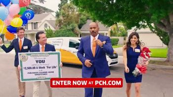 Publishers Clearing House TV Spot, '$2,500 a Week: Listen Folks' Featuring Steve Harvey - Thumbnail 1