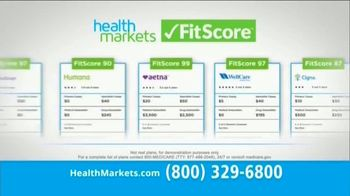 HealthMarkets Insurance Agency FitScore TV Spot, 'Compare Your Healthcare' Featuring Bill Engvall - 168 commercial airings