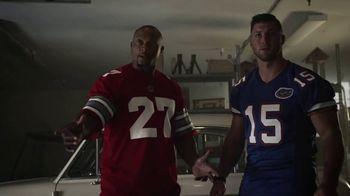 Nissan TV Spot, 'Heisman House: Legend of Paul Hornung' Featuring Tim Tebow, Eddie George and Paul Hornung [T1] - 5 commercial airings