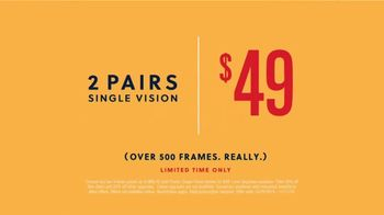 Visionworks TV Spot, 'A New Low: Two Pairs for $49' Featuring Karan Soni - Thumbnail 4