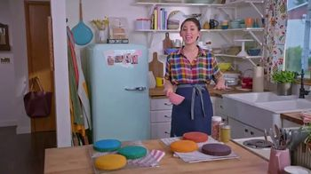Food Network Kitchen App TV Spot, 'Molly's Rainbow Cake: Leveling' - 299 commercial airings