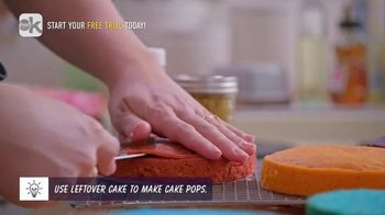 Food Network Kitchen App TV Spot, 'Molly's Rainbow Cake: Leveling' - Thumbnail 7
