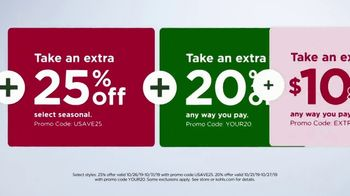 Kohl's TV Spot, '25 Percent Off Fall + Extra 20 Percent Off' - Thumbnail 6