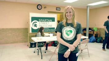 Michigan State University TV Spot, 'MSU's Spartan Street Medicine Goes Where Care Is Needed' - Thumbnail 4