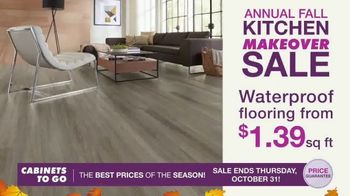 Cabinets To Go Annual Fall Kitchen Makeover Sale TV Spot, 'Ends Thursday' - Thumbnail 3