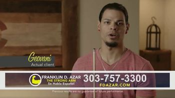 Franklin D. Azar & Associates, P.C. TV Spot, 'Geovani: Motorcycle Wreck'