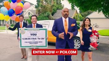 Publishers Clearing House TV Spot, '$2,500 a Week: Hey Folks' Featuring Steve Harvey - Thumbnail 1