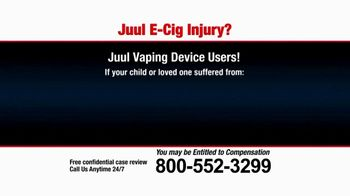 Pulaski Law Firm TV Spot, 'Juul E-Cig Injury'