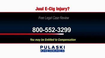 Pulaski Law Firm TV Spot, 'Juul E-Cig Injury' - Thumbnail 3