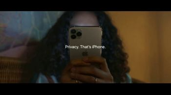Apple iPhone TV Spot, 'Privacy on iPhone: Simple as That' Song by Dustin O'Halloran - Thumbnail 8