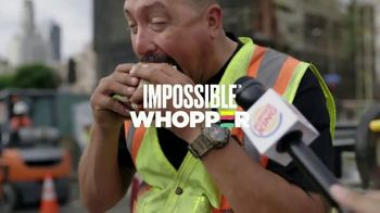Burger King Impossible Whopper TV Spot, 'Beef Lovers: Construction Workers'