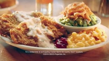 Cracker Barrel Country-Fried Turkey TV Spot, \'Warm Feelings of Home\'