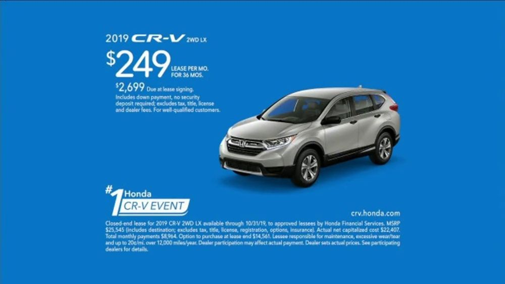 Honda Number One CR-V Event TV Commercial, 'All Walks of Life' [T2]