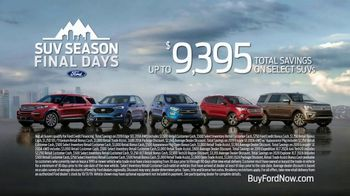 Ford SUV Season TV Spot, 'Drive It Like a Ford' Song by Pharrell [T2] - Thumbnail 8