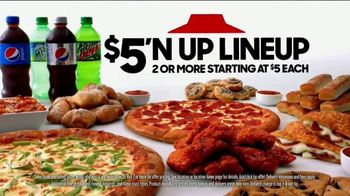 Pizza Hut TV Spot, 'Hut of the Week: Cowboys v. Eagles' - 1 commercial airings