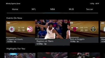 XFINITY NBA League Pass TV Spot, 'Out of Market Games' - 83 commercial airings