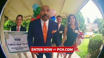 Publishers Clearing House TV Spot, 'Win $2,500 a Week for Life' Featuring Steve Harvey - 656 commercial airings
