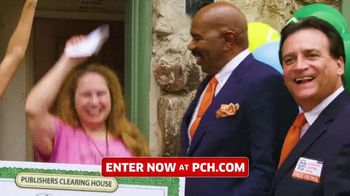 Publishers Clearing House TV Spot, 'Win $2,500 a Week for Life' Featuring Steve Harvey