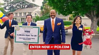 Publishers Clearing House TV Spot, 'Win $2,500 a Week for Life' Featuring Steve Harvey - Thumbnail 1