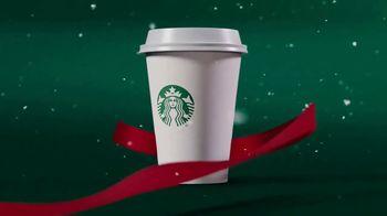 Starbucks Peppermint Mocha TV Spot, 'Moment of Merry' - Thumbnail 4