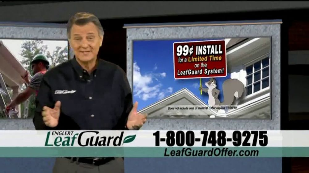 LeafGuard 99 Cent Install Sale TV Commercial, 'Beautiful Time of Year'