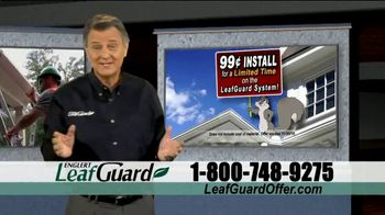 LeafGuard 99 Cent Install Sale TV Spot, 'Beautiful Time of Year'