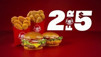 Wendy's 2 for $5 TV Spot, 'Satisfy Your Craving' - Thumbnail 6