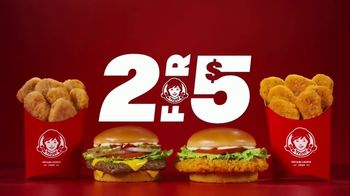 Wendy's 2 for $5 TV Spot, 'Satisfy Your Craving' - Thumbnail 2