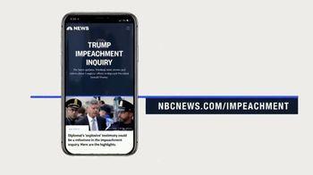NBCNews.com TV Spot, 'Impeachment' - Thumbnail 1