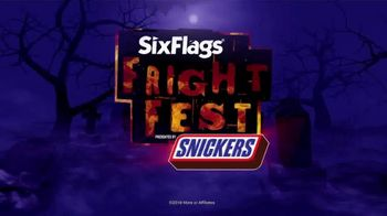 Six Flags Fright Fest TV Spot, 'Haunted Attractions'