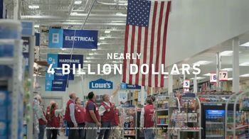 Lowe's TV Spot, 'Military Discount' - Thumbnail 6