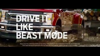 Ford Truck Month TV Spot, 'Drive It Home: Beast Mode' Song by Queen [T2] - Thumbnail 1