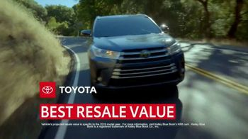 Toyota Certified Used Vehicles Sales Event TV Spot, 'Best Resale Value' [T2] - Thumbnail 2