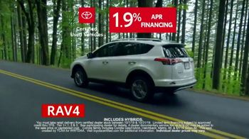 Toyota Certified Used Vehicles Sales Event TV Spot, 'Best Resale Value' [T2] - Thumbnail 5